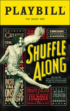 Shuffle Along, or, the Making of the Musical Sensation of 1921 and All That Followed - Playbill cover of the original Broadway production