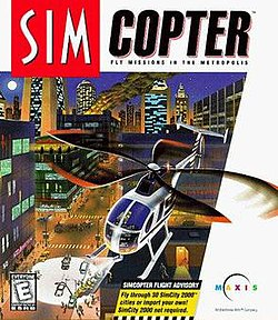 SimCopter Electronic Arts Classics Cover