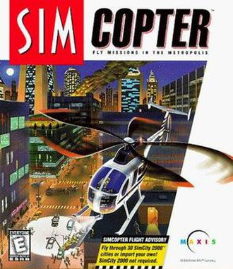 SimCopter - Image: Simcopter box cover