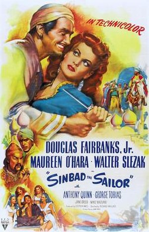 Sinbad the Sailor (1947 film) - Original US cinema poster