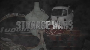 Storage Wars - Previous title card, which debuted with the third season.