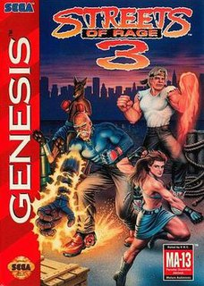 <i>Streets of Rage 3</i> 1994 video game