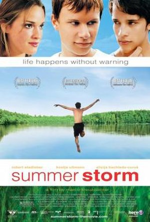 Summer Storm (2004 film) - Theatrical release poster