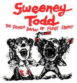 Sweeney Todd: The Demon Barber of Fleet Street - Artwork from the original Broadway production