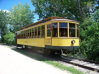 Excelsior, Minnesota - Twin City Lines No. 1239, Excelsior Streetcar Line