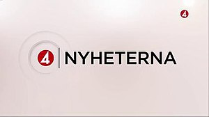 TV4Nyheterna - The current programme titles