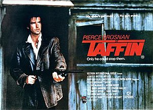 Taffin - Theatrical release poster