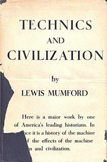 <i>Technics and Civilization</i>