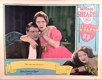 The Actress (1928 film) - Lobby card