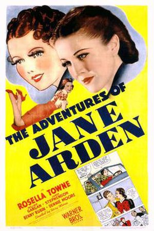 The Adventures of Jane Arden - Theatrical release poster