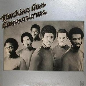 Machine Gun (Commodores album) - Image: The Commodores Machine Gun