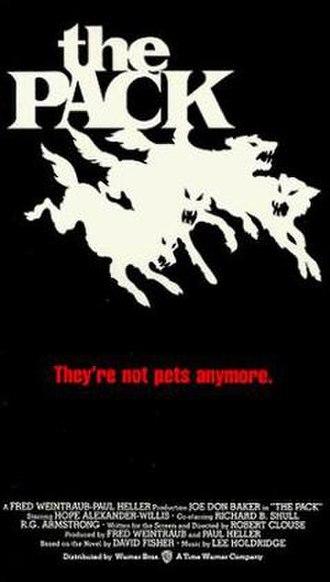 The Pack (1977 film) - VHS artwork