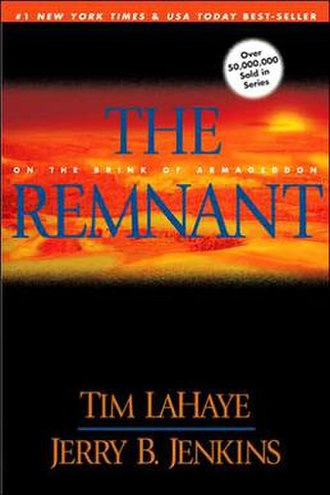 The Remnant (novel) - The Paperback Cover