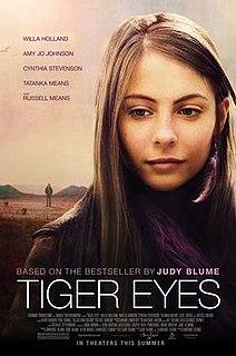 <i>Tiger Eyes</i> (film) 2012 film by Lawrence Blume
