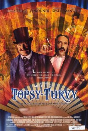Topsy-Turvy - Theatrical release poster