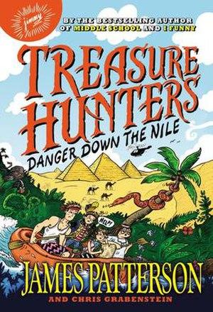 Treasure Hunters: Danger Down the Nile - Image: Treasure hunters danger down the nile book cover