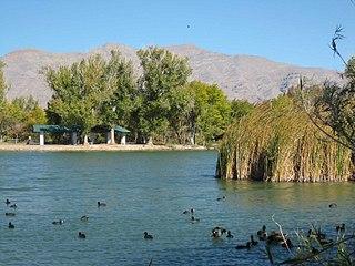 Floyd Lamb Park at Tule Springs park in Las Vegas, Nevada