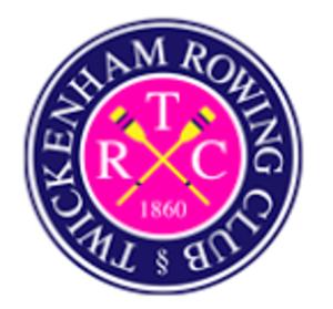 Twickenham Rowing Club - Image: Twickenham Rowing Club logo