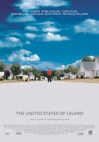 The United States of Leland - Theatrical release poster