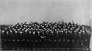 USS Saint Croix River (LSM(R)-524) - The crew of Saint Croix River following their completion of training at Norfolk.