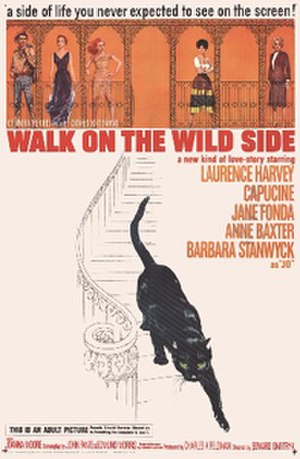 Walk on the Wild Side (film) - Theatrical release poster inspired by Saul Bass's opening title sequence