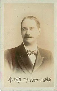 William Alexander McArthur British politician