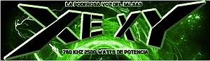 XHXY-FM - Image: XEXY La Poderosa Vozdel Balsas logo