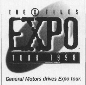 Oldsmobile Intrigue - Image: X Files Expo 1998