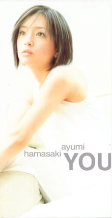 You (Ayumi Hamasaki single - cover art).png