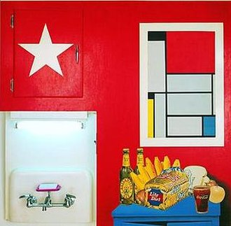 Tom Wesselmann - Image: 'Still Life 20', mixed media work by Tom Wesselmann , 1962, Albright Knox Gallery