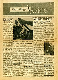 Its the end of an era: The Village Voice is dead