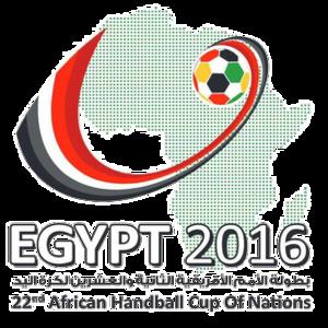 2016 African Men's Handball Championship - Image: 2016 CAHB Men's Handball Afcon (logo)
