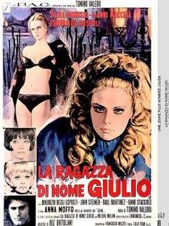 <i>A Girl Called Jules</i> 1970 film by Tonino Valerii