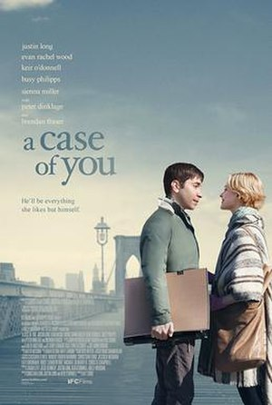 A Case of You (film) - Theatrical release poster