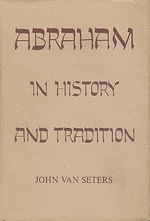 <i>Abraham in History and Tradition</i>