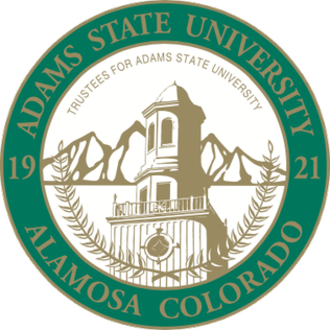 Adams State University - Image: Adams State University seal