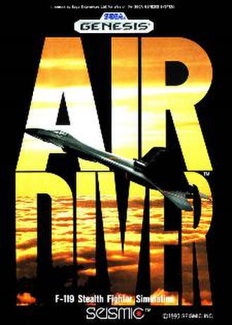Air Diver - North American cover art