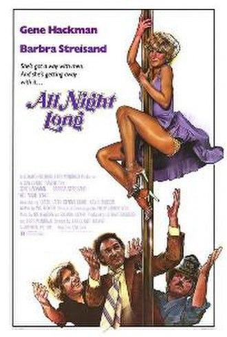 All Night Long (1981 film) - Original film poster
