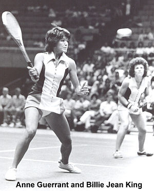 Mona Guerrant - Image: Anne Guerrant and Billie Jean King