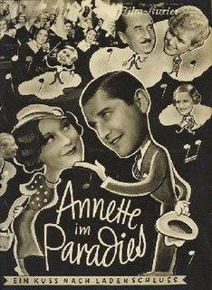 <i>Annette in Paradise</i> 1934 film