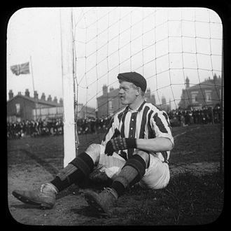 Chorley F.C. - Archibald Pinnell, goalkeeper for Chorley in the 1890s.