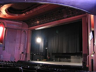 Hammersmith Apollo - View of the stage and proscenium, 2007