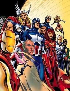 Avengers (comics) comic book superhero team