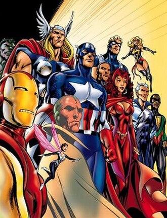 Avengers (comics) - Image: Avengers (Marvel Comics) vol 3 num 38