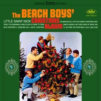 The Beach Boys' Christmas Album - Image: BB Xmas Cover