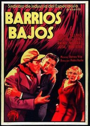 Barrios bajos - Image: Barrios bajos poster