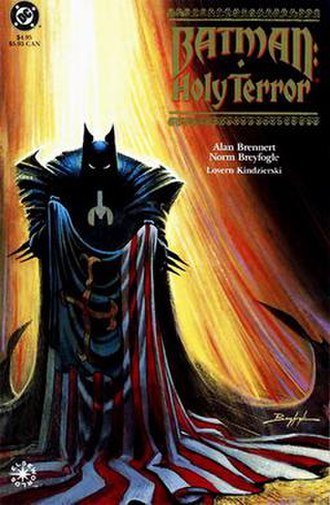 Batman: Holy Terror - Cover of Batman - Holy Terror one-shot