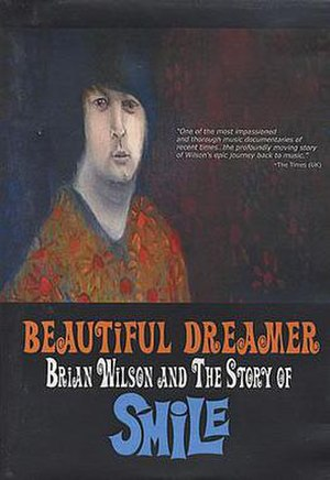 Beautiful Dreamer: Brian Wilson and the Story of Smile - Promotional DVD cover