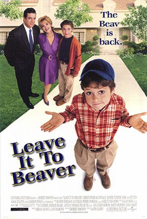 Leave It to Beaver (film) - Theatrical release poster