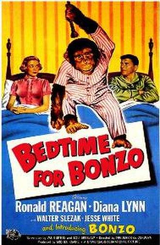 Bedtime for Bonzo - Original 1951 film poster